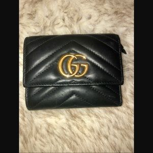 GUCCI Medium Marmont 2.0 Leather Wallet